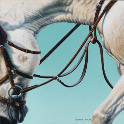 equestrian statement art print by Calgary artist Shannon Lawlor
