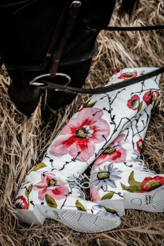 Port Floral Riding Boots