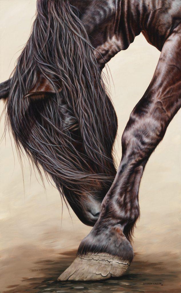 equestrian art print by Calgary Artist Shannon Lawlor