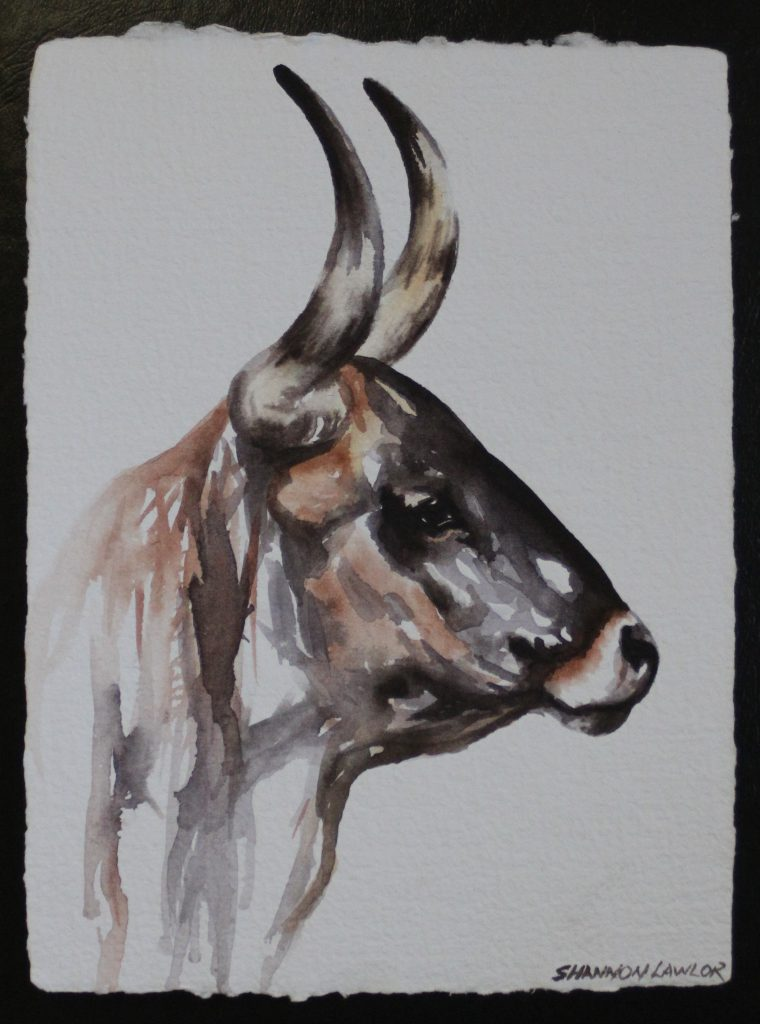 original painting by Shannon Lawlor